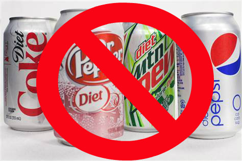Put down the diet soda, it does NOT help lose weight